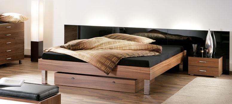 wasserbett mit hasena movieline bettgestell. Black Bedroom Furniture Sets. Home Design Ideas
