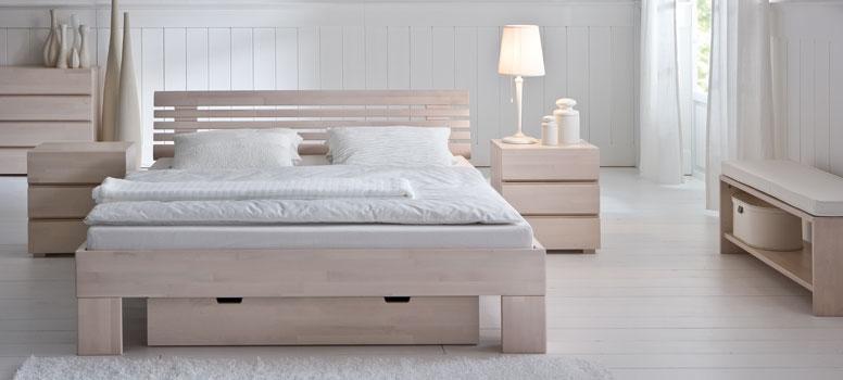 bettgestell aus massivholz hasena woodline. Black Bedroom Furniture Sets. Home Design Ideas