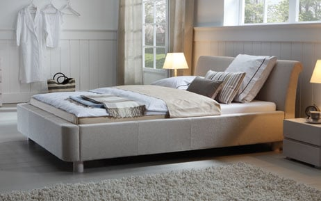 wasserbett mit dream line polster bettrahmen zamo. Black Bedroom Furniture Sets. Home Design Ideas