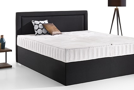 boxspring wasserbett als classic oder split kaufen. Black Bedroom Furniture Sets. Home Design Ideas