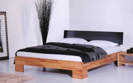 Reduziert Massivholz Bett Buche Natur