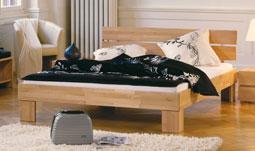 bettgestelle aus holz. Black Bedroom Furniture Sets. Home Design Ideas