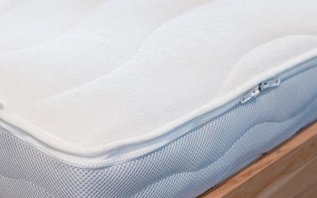 wasserbett bezug frottee stretch mit rei verschluss. Black Bedroom Furniture Sets. Home Design Ideas