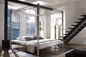 bettgestelle f r jeden geschmack. Black Bedroom Furniture Sets. Home Design Ideas