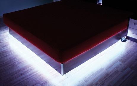 Led Strip Licht : Rgb strip beleuchtung für wasserbett podest