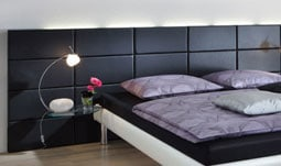 wasserbett kopfteile. Black Bedroom Furniture Sets. Home Design Ideas