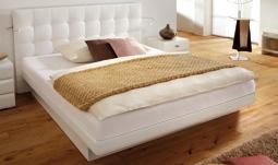 bettrahmen und wasserbett im set. Black Bedroom Furniture Sets. Home Design Ideas