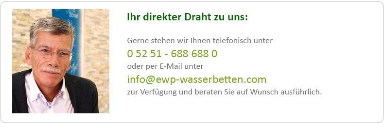 EWP Wasserbett Beratung