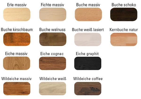EWP Schubladenpodest Massivholz