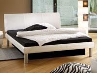 wasserbett mit holzdekor bettrahmen. Black Bedroom Furniture Sets. Home Design Ideas