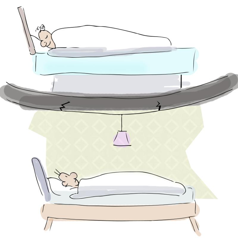 wie schwer ist ein wasserbett und h lt meine decke das aus. Black Bedroom Furniture Sets. Home Design Ideas
